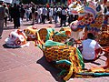 2008 Olympic Torch Relay in SF - Dragon dance 02.JPG