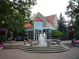Chaska, Minnesota - Chaska City Hall on City Hall Plaza.