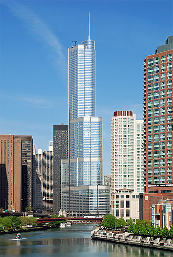 English: Trump International Hotel and Tower a...