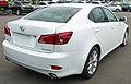 2010-2011 Lexus IS 250 (GSE20R MY11) Prestige sedan (2011-04-22) 02.jpg