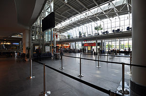 Erfurt–Weimar Airport - The Check-in hall