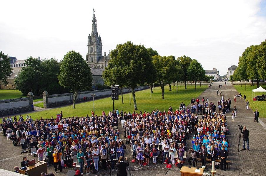 Narodowy Kongres Francuskiej Federacji Pueri Cantores w Rennes, 6-10 lipca 2011.