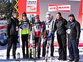 2011 Rogla FIS Cross-Country World Cup, podium.jpg