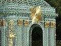 2013.Gitterpavillon verziert mit vergoldeten Sonnen und Instrumenten(1775)-Sanssouci-Steffen Heilfort.JPG