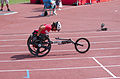 2013 IPC Athletics World Championships - 26072013 - Catherine Debrunner of Switzerland during the Women's 400M - T53 second semifinal 8.jpg