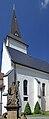 2013 Karwina, Frysztat, Kościół Podwyższenia Krzyża Świętego 05.jpg