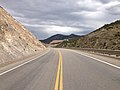 2014-08-11 15 15 23 View east along U.S. Route 50 about 61.6 miles east of the Eureka County line near Ruth, Nevada.JPG