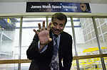 2014 Dr. Neil deGrasse Tyson Visits NASA Goddard (14336751581).jpg