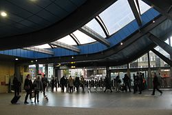 2014 at Reading station - south exit.JPG