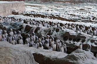 Terracotta Army - Mausoleum of the First Qin Emperor, Hall 1