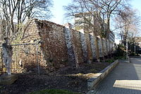 20150312 Maastricht; second medieval city wall at terrain of Calvariënberg monastery 03.jpg