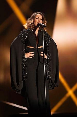 Elhaida Dani - Dani at the Eurovision Song Contest 2015