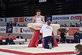 2015 European Artistic Gymnastics Championships - Pommel horse - Louis Smith 01.jpg