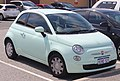 2015 Fiat 500 Pop hatchback (2018-10-08) 01.jpg