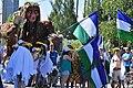 2015 Fremont Solstice parade - Sasquatch and Cascadia 01 (18693394024).jpg
