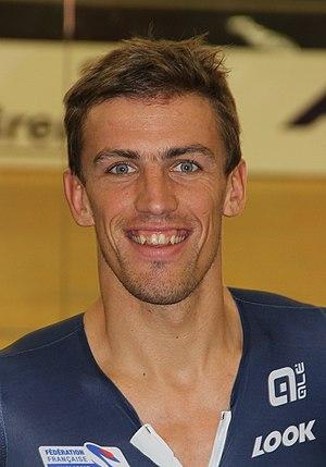 Damien Gaudin - Gaudin at the 2015 UEC European Track Championships