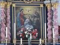 2017-07-15 (175) Painting of the Coronation of Mary at Dreifaltigkeitskapelle in Zedlach, Matrei in Osttirol, Austria.jpg