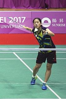 Chiang Ying-li Badminton player