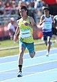 2018-10-16 Stage 2 (Boys' 400 metre hurdles) at 2018 Summer Youth Olympics by Sandro Halank–028.jpg