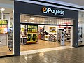 2019-02-25 20 29 15 A Payless ShoeSource just before closing at the Fair Oaks Mall in Fair Oaks, Fairfax County, Virginia.jpg