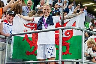 Jess Fishlock Five-time Welsh Footballer of the Year, three-time NWSL Best XI Midfielder (born 1987)