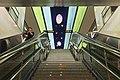 20190705 Escalators at Yaozhai Station.jpg