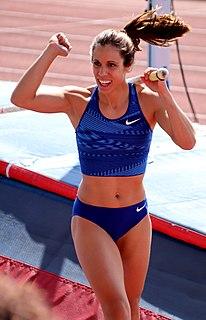 Katerina Stefanidi Greek pole vaulter