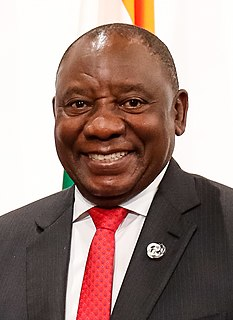 Cyril Ramaphosa 5th President of South Africa