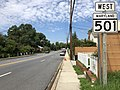 2020-08-19 11 52 22 View west along Maryland State Route 501 (Chillum Road) at Sargent Road in Chillum, Prince George's County, Maryland.jpg