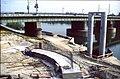 207R32270492 Bereich Nordbahnbrücke, Bau der Trasse für die U Bahn Linie U6, Nordbahnbrücke Ostseite, Standort Donauinsel.jpg