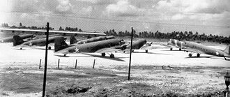 20th Attack Squadron - 20th Transport Squadron aircraft – Howard Field, Panama, 1943
