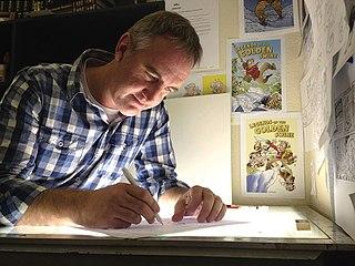 Shaun Yeo New Zealand cartoonist and illustrator (b. 1974)