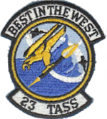 23d Tactical Air Support Squadron - TAC Emblem.png