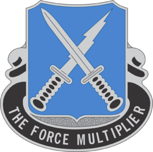500th Military Intelligence Brigade (United States) - Image: 301 MI Bn DUI