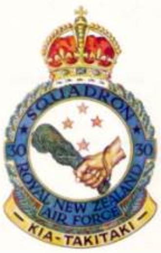 No. 30 Squadron RNZAF - Image: 30 Sqn RNZAF crest