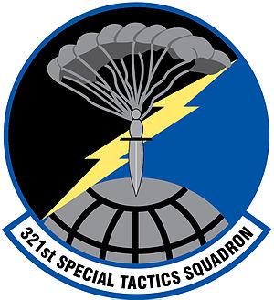 321st Special Tactics Squadron - 321st STS unit emblem