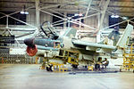 356th Tactical Fighter Squadron A-7D Corsair II in Phase Hangar.jpg