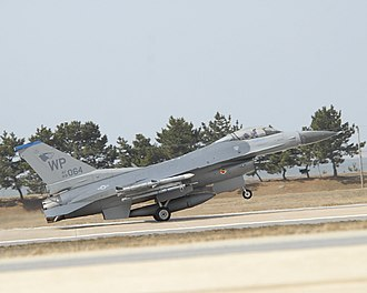 35th Fighter Squadron - Image: 35th Fighter Squadron General Dynamics F 16C Block 40F Fighting Falcon 89 2064