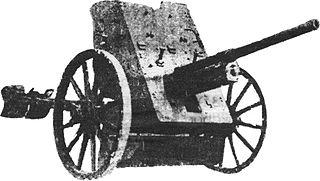 37 mm anti-tank gun M1930 (1-K) antitank gun model of the Soviet Army