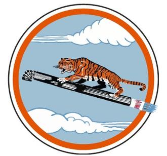 380th Space Control Squadron - SAC 380th Bombardment Squadron emblem