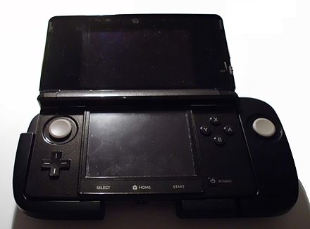 The Circle Pad Pro accessory for the original Nintendo 3DS 3DS Circle Pad Pro.JPG