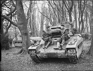 44th Royal Tank Regiment - Image: 44 RTR Matilda tanks UK Dec 1940 IWM H 6371