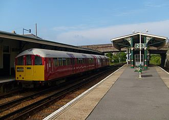 Island Line (brand) - Island Line Class 483 No. 004 at Ryde St John's Road station