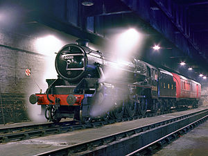LMS Stanier Class 5 4-6-0 5000 - No. 5000 in 1982