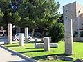 512 Castell de la Suda (Tortosa), restes de columnes romanes.JPG