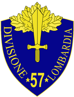 57th Infantry Division Lombardia