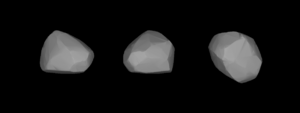 5 Astraea - Lightcurve-based 3D-model of Astraea