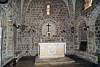 602353 kościół p.w. św. Prokopa Strzelno ołtarz główny