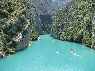 Var (department) - Verdon Gorge