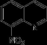 Strukturformel von 8-Nitrochinolin